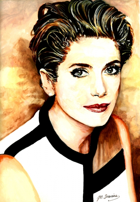 Catherine Deneuve by Mathilde-DRACENA